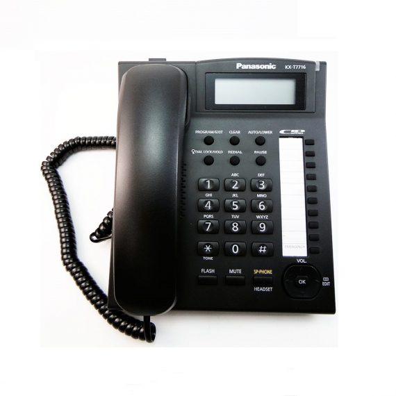 گوشی تلفن رومیزی پاناسونیک KX-T7716